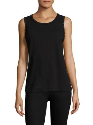 Edith Studded Muscle Tank Top by n:Philanthropy