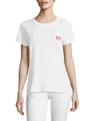 Shell Whale Slub Cotton Tee by Vineyard Vines