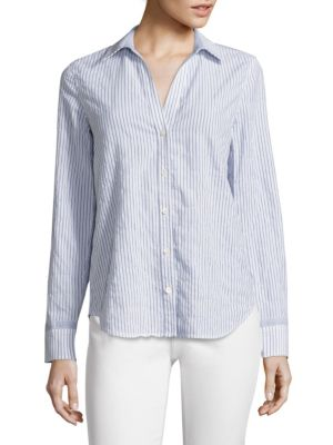 Striped Linen & Cotton Shirt by Vineyard Vines