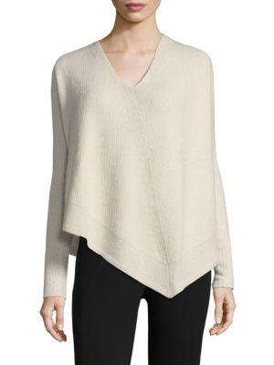 Cashmere & Silk Asymmetric Top by Derek Lam