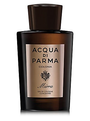 Image of An original, elegant fragrance created using an unusual accord of two olfactory themes with an intense personality: the citrus notes of colonia blended with the warm, aromatic accents of myrrh, a precious ingredient with a heady suggestion of mystical cha