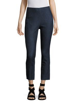 Rag And Bone Indigo Simone Denim Trousers in Black