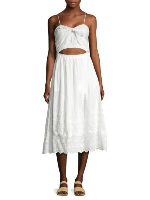 Jenna Eyelet Dress