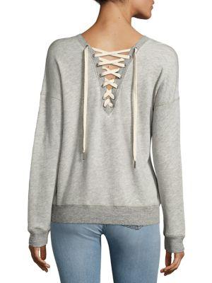 Kali Lace-Up Sweatshirt by n:Philanthropy