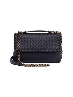 QUICK VIEW. Bottega Veneta. Small Olimpia Intrecciato Leather Chain  Shoulder Bag 2fb2d404e5f6a