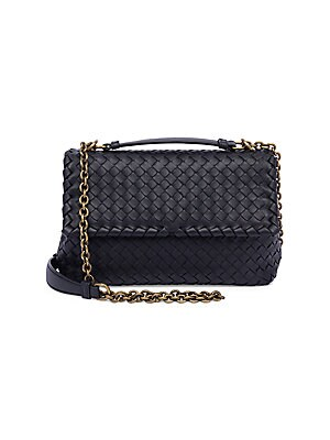f431445ed27 Bottega Veneta - Small Olimpia Intrecciato Leather Chain Shoulder Bag