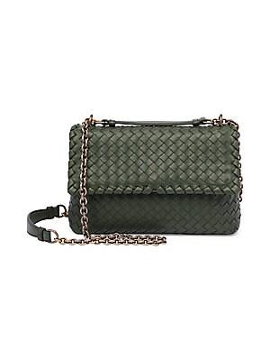 ... Bottega Veneta. Small Olimpia Intrecciato Leather Chain Shoulder Bag  attractive price 09625 3406f ... 4c11b29aa33d7