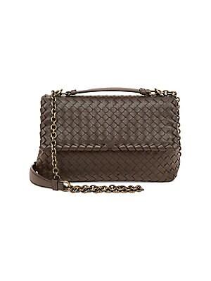 8c93a362f124 Bottega Veneta - Small Olimpia Intrecciato Leather Chain Shoulder Bag