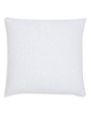 SFERRA Terzo Down Throw Pillow  Navy