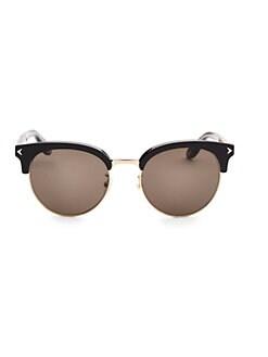 2dcd9b31aae2 Givenchy. 55MM Half-Rim Round Sunglasses