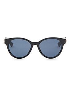 8ab37e16abc Dior. Diorama7 52MM Mirrored Round Sunglasses