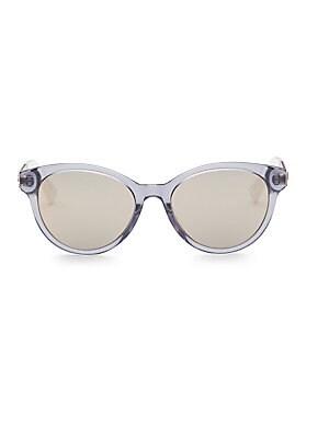 5b3e60c34376 Dior - Diorama Mini 54MM Mirrored Cat Eye Sunglasses - saks.com