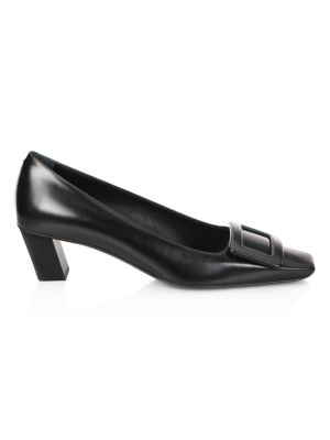 Decollecte Belle Leather Pumps by Roger Vivier