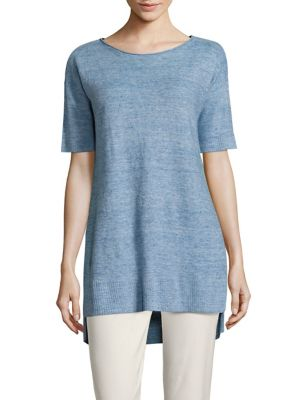 Linen Box Tunic by Eileen Fisher