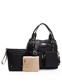 Alexa Diaper Bag Black Product Image