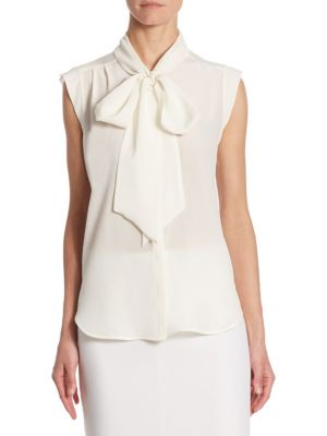 Tevere Tie Neck Blouse by Max Mara