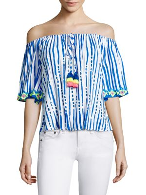 Sain Off-the-Shoulder Top by Lilly Pulitzer