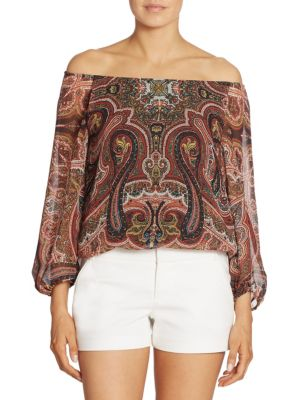 Alta Peasant Top by Alice + Olivia