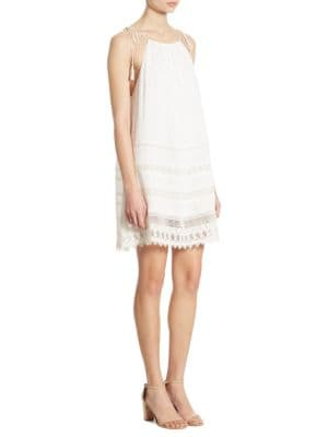 Buy Alice + Olivia Danna Lace Inset Dress online with Australia wide shipping