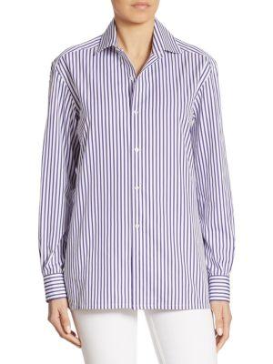 Capri Striped Shirt by Ralph Lauren Collection