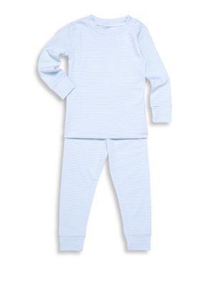 Babys Toddlers  Little Boys Striped Pajama Set
