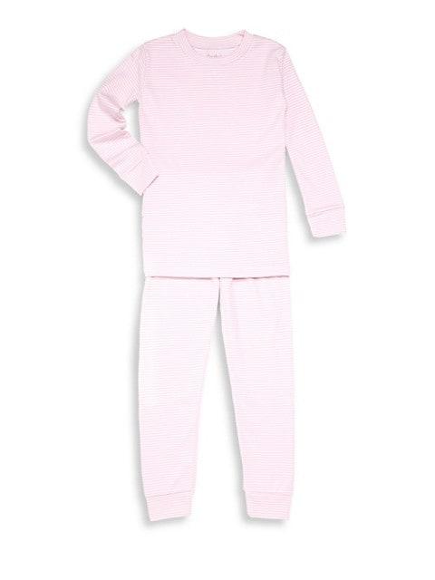 Baby's & Little Girl's Two-Piece Stripe Pajama Set