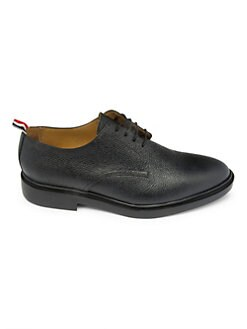 a11421802b7 Thom Browne. Pebbled Leather Derby Shoes