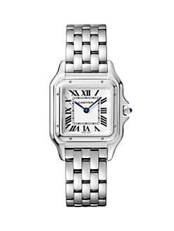 fc7a56188ca QUICK VIEW. Cartier. Panthère de Cartier Stainless Steel Bracelet Watch