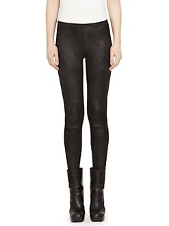 1ed33b6ef8825 QUICK VIEW. Rick Owens. Solid Leather Leggings