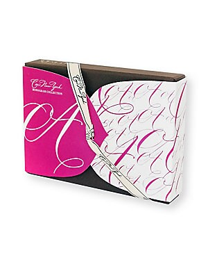 """Image of The Ceci Monogram collection offers an exciting artistic alternative to the traditional monogram note. Packed with graphic impact, each letter creates an intriguing, unique pattern. Includes: 12 note cards and envelopes 4 designs 4""""W x 6""""L Made in USA. Gi"""