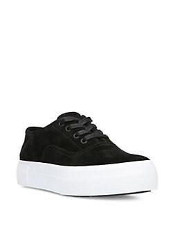 da7d988f4cb3 Vince Copley Suede Platform Sneakers from Saks Fifth Avenue - Styhunt