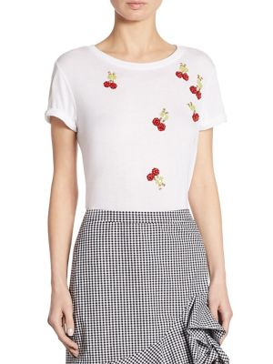 Embellished Cherry Tee by Scripted