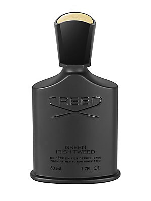 Image of A classic, as the old adage tells us, never goes out of style. Like a perfectly tailored suit, Green Irish Tweed has been and continues to be worn by confident men at the peak of their field. The fragrance elegantly combines woody freshness and pure mascu