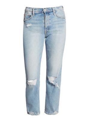 Mother Tomcat Distressed Wash Jeans