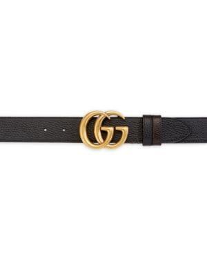 d7978ff71dd Gucci Interlocking GG Reversible Leather Belt
