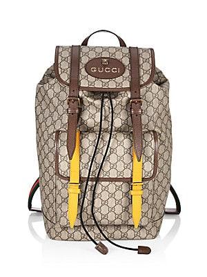 40d6b7bfadf681 Gucci - GG Supreme Backpack - saks.com