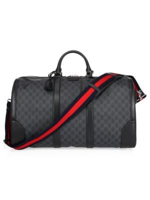 e4b8a9eccd Gucci - Soft GG Supreme Carry-On Duffle with Wheels - saks.com