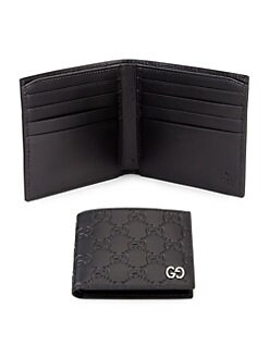 fb900da7c01f0f Embossed GG Leather Bifold Wallet COCOA. QUICK VIEW. Product image. QUICK  VIEW. Gucci