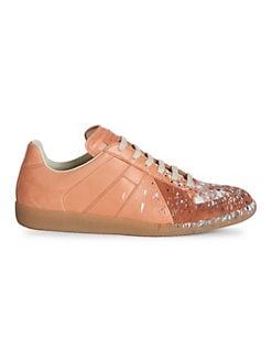 57e74771d73655 Product image. QUICK VIEW. Maison Margiela. Replica Splatter Paint Sneakers