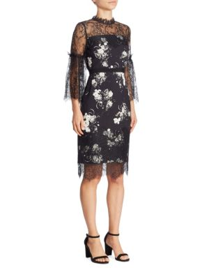 Erdem Kiya Floral Lace Dress