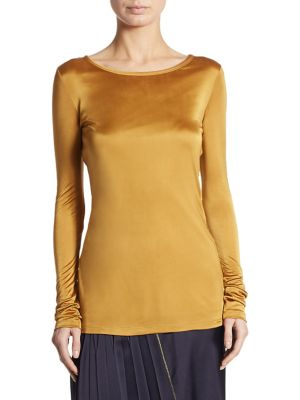 Crew Neck Top by DKNY