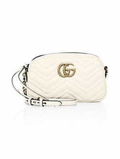 4782eda9ead26c GG Small Matelassé Leather Camera Bag WHITE. QUICK VIEW. Product image.  QUICK VIEW. Gucci