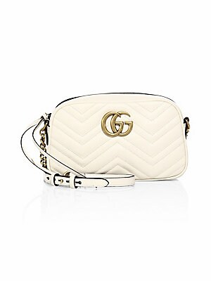 c7b535ad7cb Gucci - GG Small Matelassé Leather Camera Bag - saks.com
