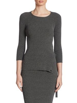 Armani Jeans Ribbed Knit Tunic by Armani Jeans