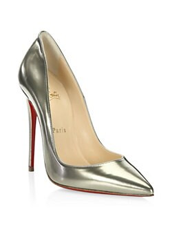 Christian Louboutin - Kate Antispecchio Leather Point Toe Stiletto