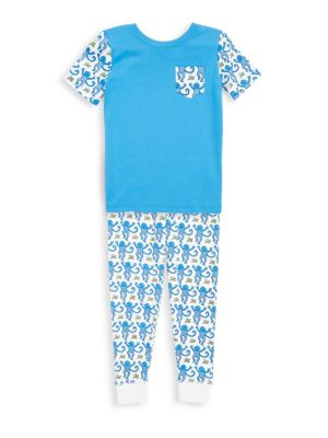 Roller Rabbit Toddler S Little Boy S Boy S Two Piece Monkey Print Pajama Set