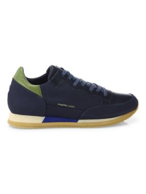 Philippe Model  Bright Leather Sneakers