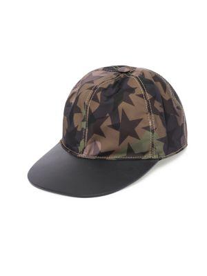 ca91b6c77e8 Valentino Star Baseball Hat In Army Green