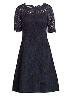 f0eddaf5689 Teri Jon by Rickie Freeman - Lace A-Line Dress