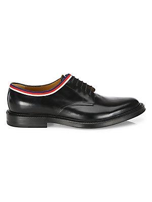 0167c6b60 Gucci - Leather Fringe Horsebit Loafer - saks.com